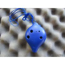 Ocarina 6 Orificios Plástico Con Cancionero Y Guía