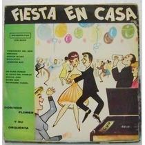 Domingo Flores Y Su Orquesta / Fiesta 1 Disco Lp Vinil
