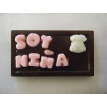 Chocolates Personalizados Para Nacimiento De Tu Bebe 5x$50