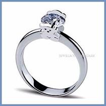 Anillo De Compromiso Diamante Natural .55ct Oro 10k -50% 219