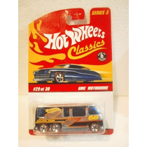Hot Wheels Classics Camioneta Gmc Motorhome Cromado Series 3