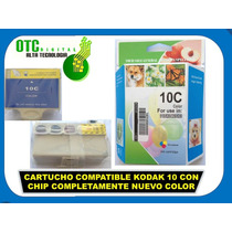 Cartucho Compatible Kodak 10 Chip Completam Nvo Color Mn4