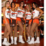1 Par Pantimedias P/porristas Aerobics Hooters Color Natural