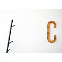 Perchero De Acero Mueble Diseño Moderno Negro Minimalista