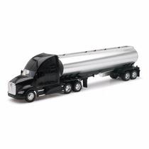 1:32 Camion Trailer Pipa Kenworth T700 A Escala Tipo Pemex