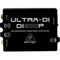 Behringer Di600p Caja Directa Para Guitarra Y Bajo.