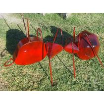 Hermosa Hormiga Gigante De Metal Para Jardin. Envio Gratis.
