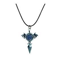 Kuroshitsuji Pentagrama Collar Dije Con Cadena Importado