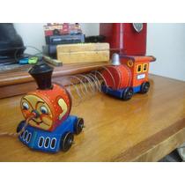 1950s Tren De Lámina Line Mar Toys Japón