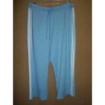 Capri D Pants Bold Spirit Azul C/franjas P/dama 10-12 36-38