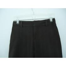 Pantalon Con Raya Marca Gap Algodon Strech
