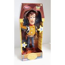 Toy Story Vaquero Woody 19 Frases Ingles 36cm