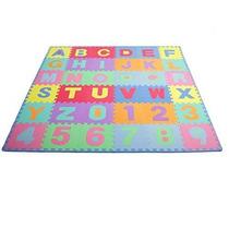 Prosource Niños Rompecabezas Del Alfabeto Números 36 Azulejo