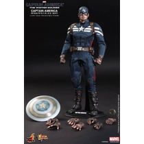 Hot Toys Capitan America Stealth Winter Soldier Nuevo 1/6