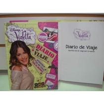 Violetta Diario De Viaje Original Con Licencia De Disney