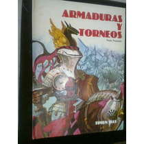 Armaduras Y Torneos Libro Con Dibujos Y Texto