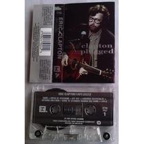 Eric Clapton Unplugged Cassette Mexicano Raro 1992 C/booklet