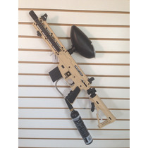 Marcadora Tippmann Project Salvo Tan Gotcha Paintball Rm4