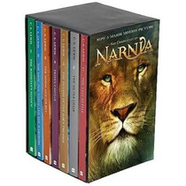 Libros Chronicles Of Narnia Box Set De 7 Libros Nuevos