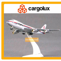 Avion Cargolux Boeing 747 200 Escala 1:500 Metal Star Jets