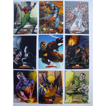 Marvel Masterpieces 2008 Serie 2 Set Base 90 Tarjetas