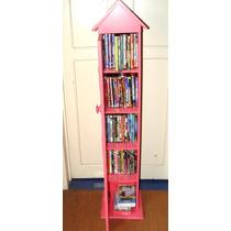 Mueble Organizador De Peliculas Dvd Cds 5 Entrepaños