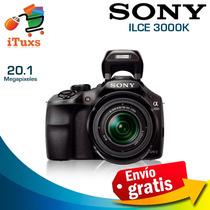 Camara Sony Alpha A3000 Lente 18-55mm Envio Gratis [ituxs]