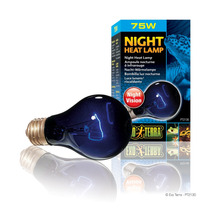 Foco Night Glo 75 Watts Marca Exo Terra