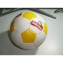 Antiguo Balón De Futbol De Sabritas