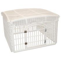 Jaula Para Mascotas Perros Animales Domesticos Con Techo Vv4