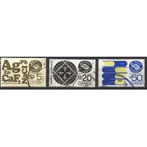 0695 México 6° E 3 Sellos $5 $20#2 $50 Usados N H 1982-83