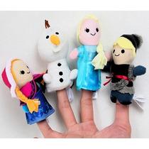 4 Títeres Para Dedo Guiñol Frozen