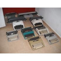 Lote De Maquinas De Escribir, Fax