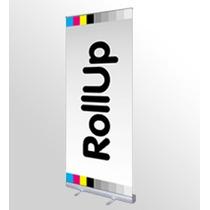 Roll-up De .85x2.00 Y .80x2de Aluminio Incluye Bolsa $320.00