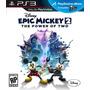 Epic Mickey 2 Disney Best Game Ps3 De Colleccion