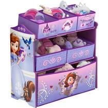 Organizador De Juguetes Infantil Sofia Disney