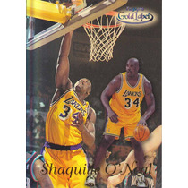1999-00 Topps Gold Label Class 2 Black Shaquille O