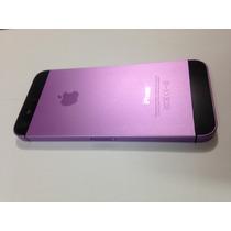 a600b18b9fb Carcasa Tapa Trasera Original iPhone 5 5s Negro Dorada Rosa en venta ...