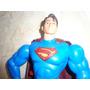 Figura Superman 12 Sonido Y Luz Ojos Y Pecho
