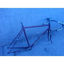 Cuadro Bicicleta De Carreras