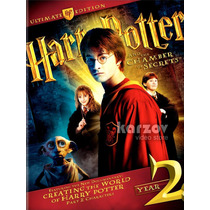 Harry Potter Ultimate Edition Year 2 Año 2 Importacion Dvd