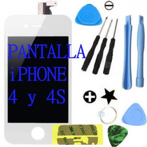 Pantalla Display Iphone 4 Y 4s Touchscreen Original + Regalo