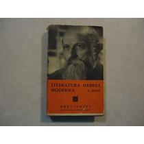 Literatura Hebrea Moderna Autor: Simon Halkin