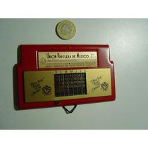 Antiguo Calendario Perpetuo En Metal
