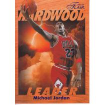 1997-98 Flair Hardwood Leader Michael Jordan Bulls