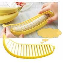 Cortador Rebanador De Platanos Y Bananas Plastico Cocina