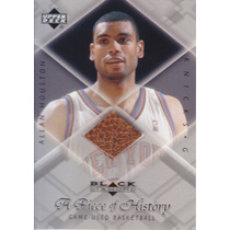 1999-00 Ud Black Diamond Used Basketball Allan Houston Knick