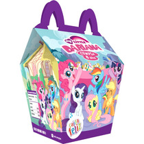 Kit My Little Pony Imprimible Personalizado Invitaciones Caj