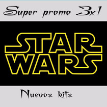 Kit Imprimible Star Wars Vii Cumple+candy Imagenes Fondos