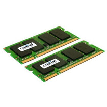 Memoria Crucial 4gb Kit (2gbx2) Ddr2 800mhz (pc2-6400) Cl6